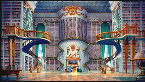 beautyandbeast_library